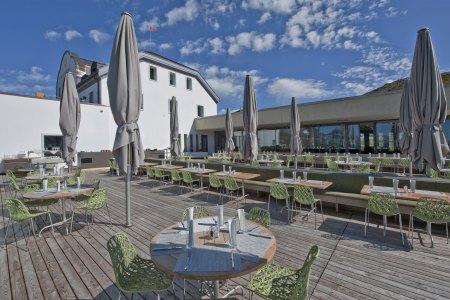 Bergrestaurant Muottas Muragl, © Engadin St. Moritz Mountains AG