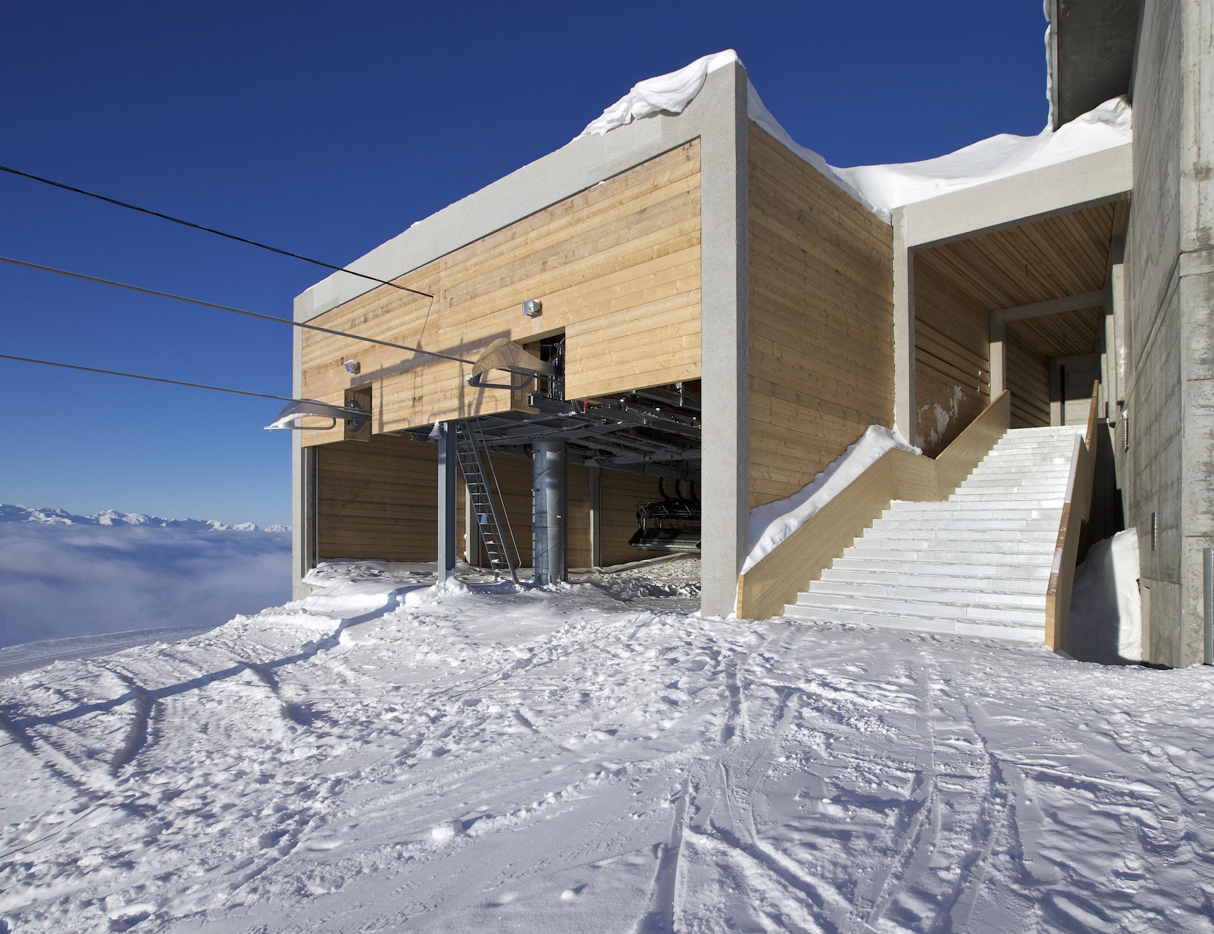 Stationen Holz, © Weisse Arena Bergbahnen AG, Gaudenz Danuser
