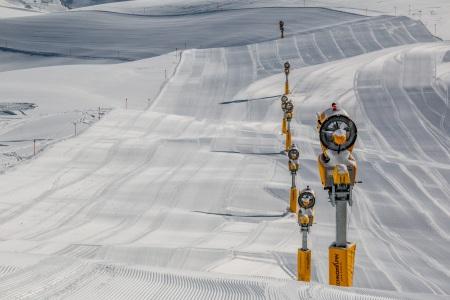 Schneeerzeuger, © Davos Klosters Bergbahnen AG