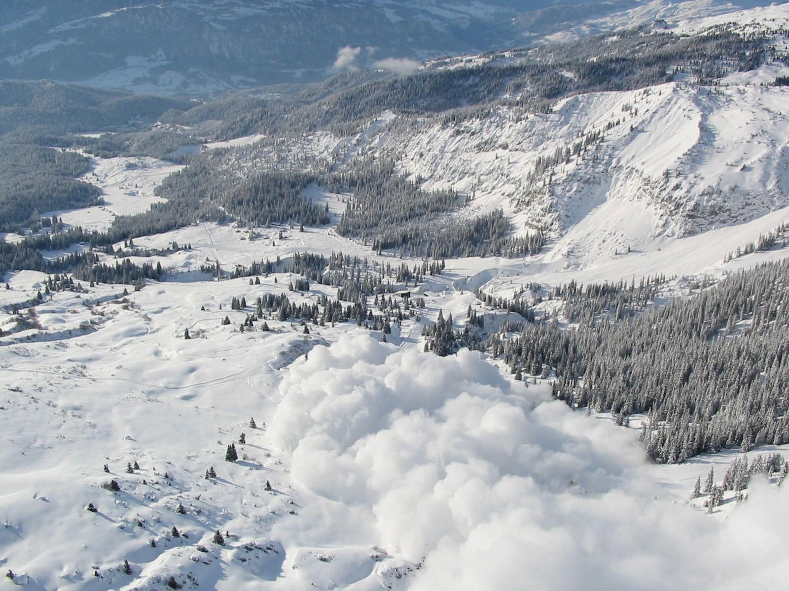 Lawine Flims, © Weisse Arena Bergbahnen AG