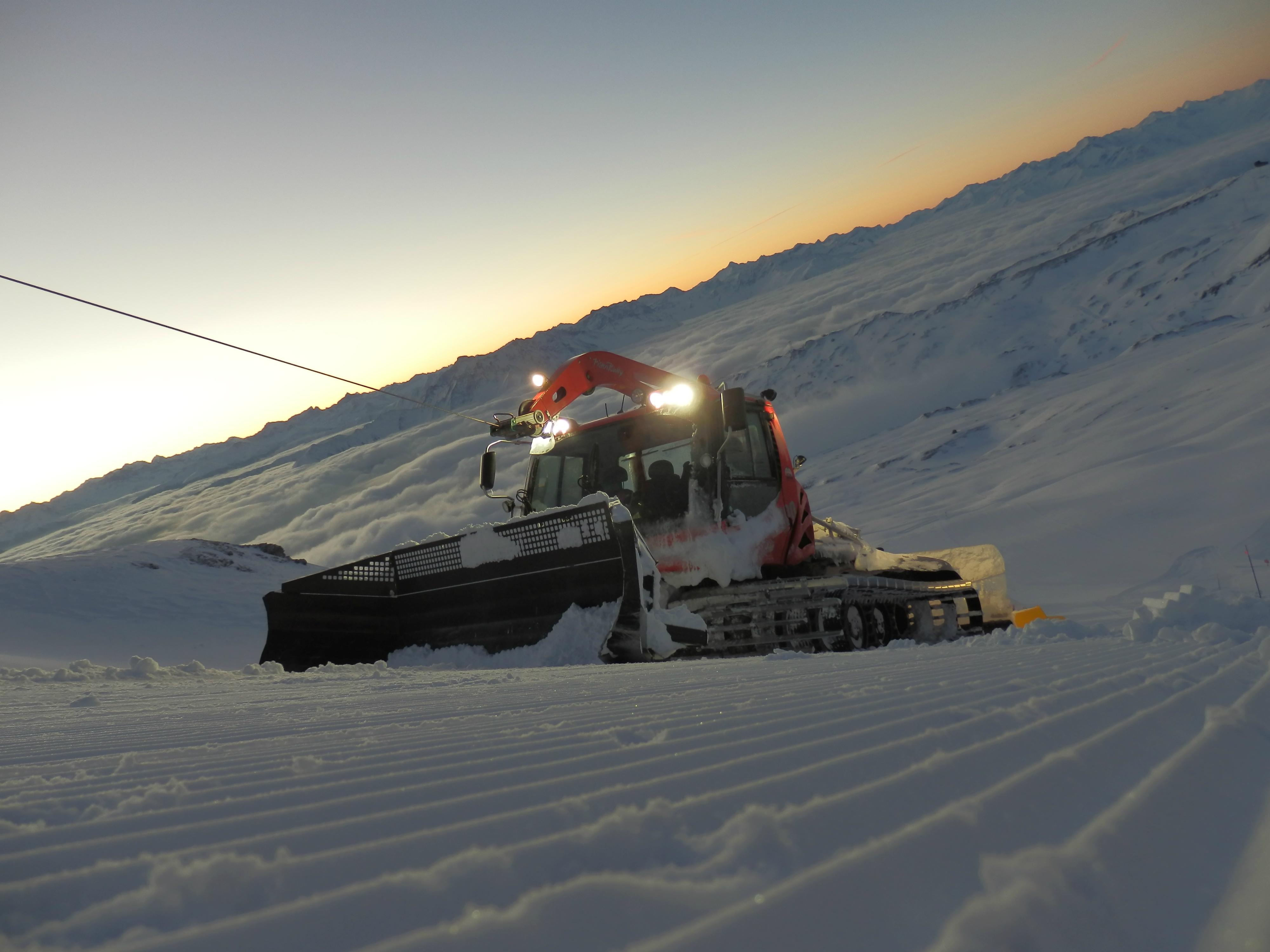 Seilwinde, © Weisse Arena Bergbahnen AG