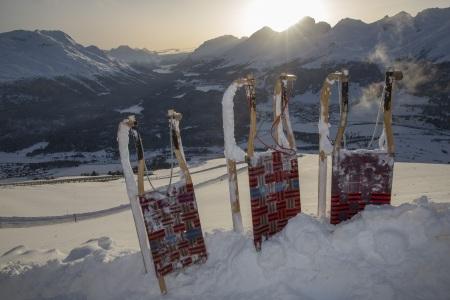 Schlitteln Muottas Muragl, © Engadin St. Moritz Mountains AG, Christof Sonderegger
