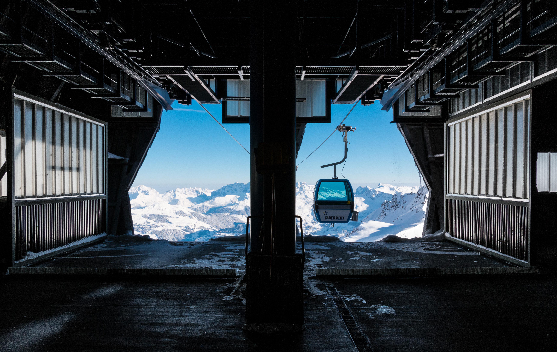 Gondelbahn Parsenn, © Davos Klosters Bergbahnen AG, Johannes Hüchelheim