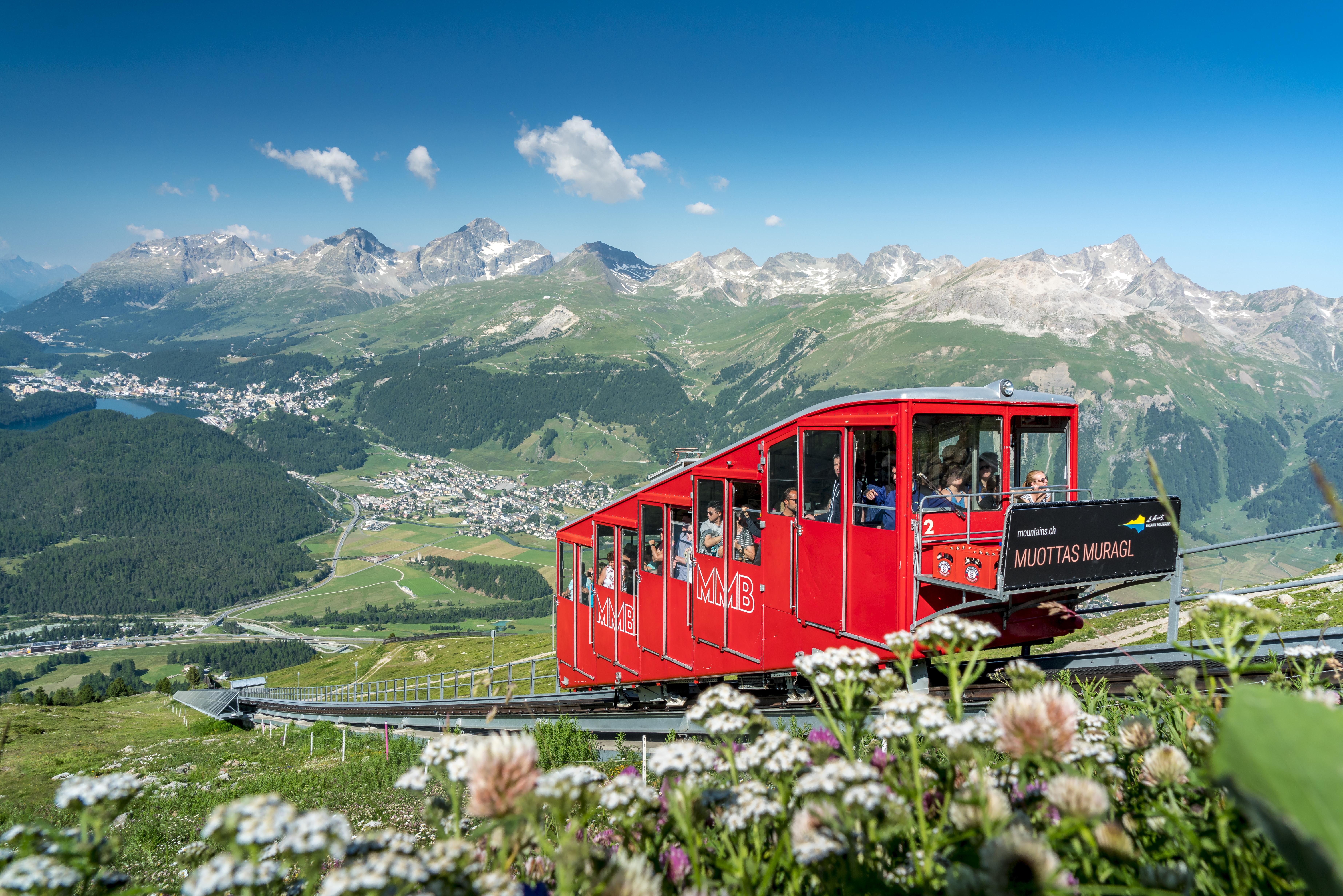 Muottas Muragl, © Engadin St. Moritz Mountains AG