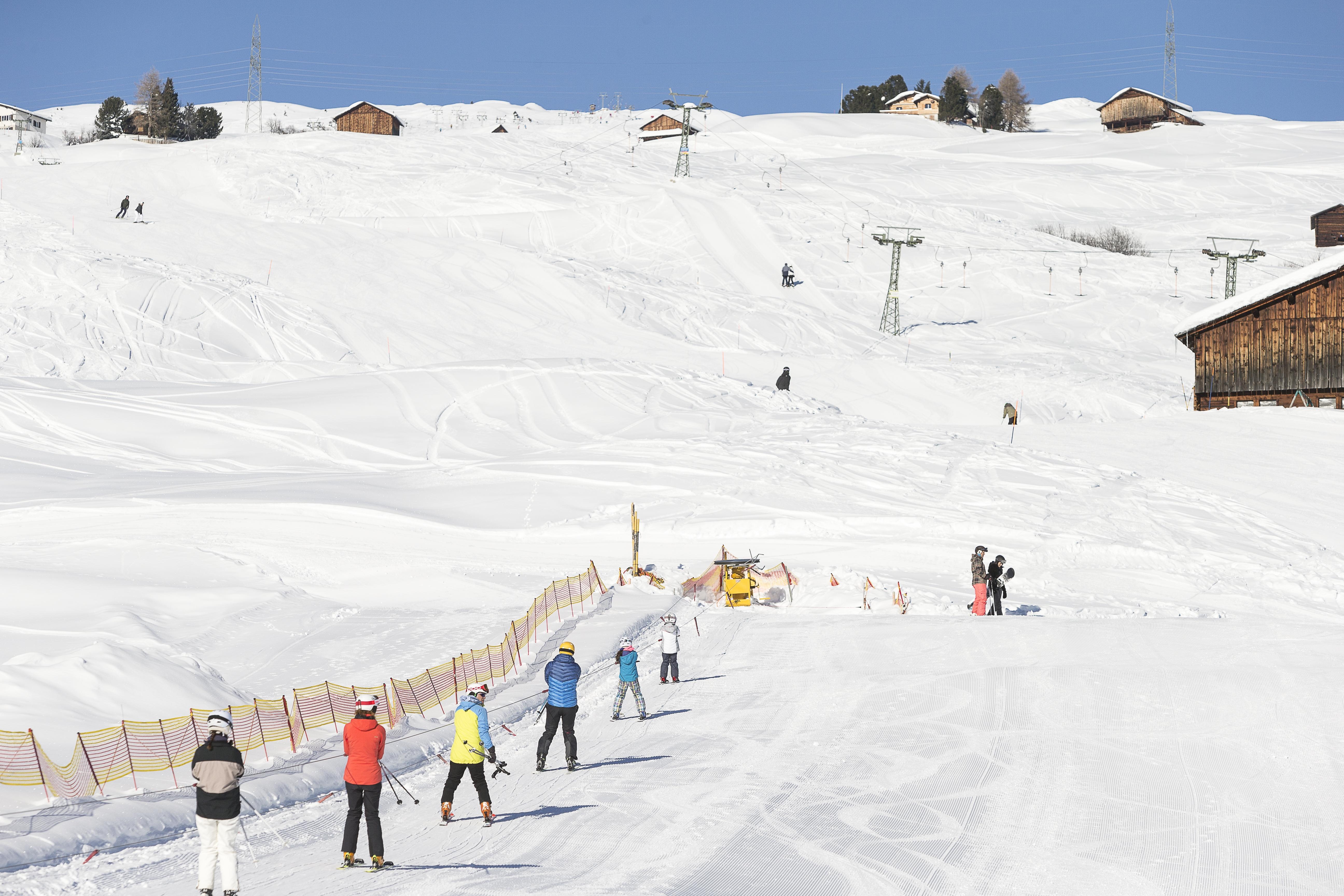 Kinderskilift Tschappina, © Bergbahnen Graubünden, Thomas Hablützel