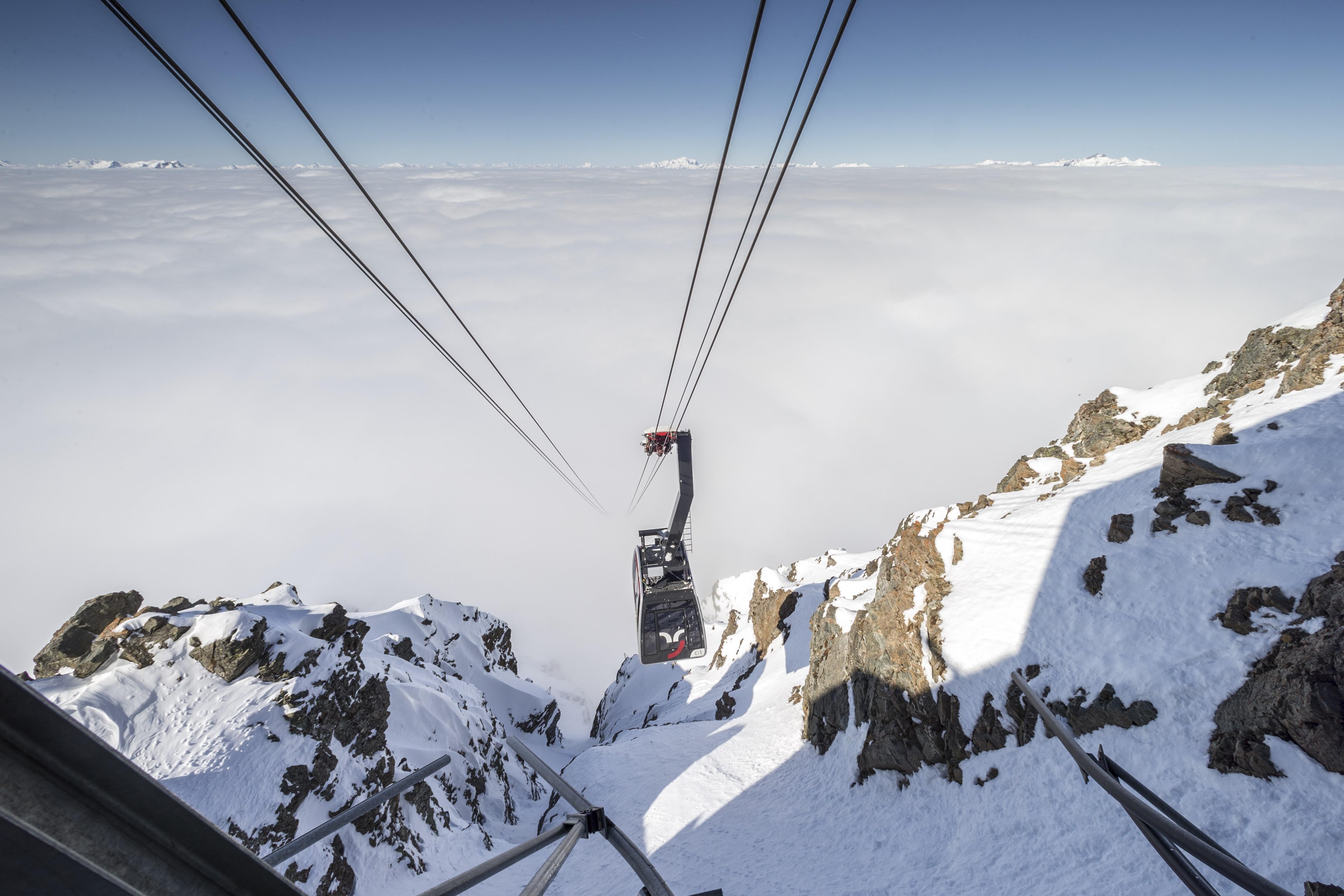Rothornbahn, © Bergbahnen Graubünden, Thomas Hablützel