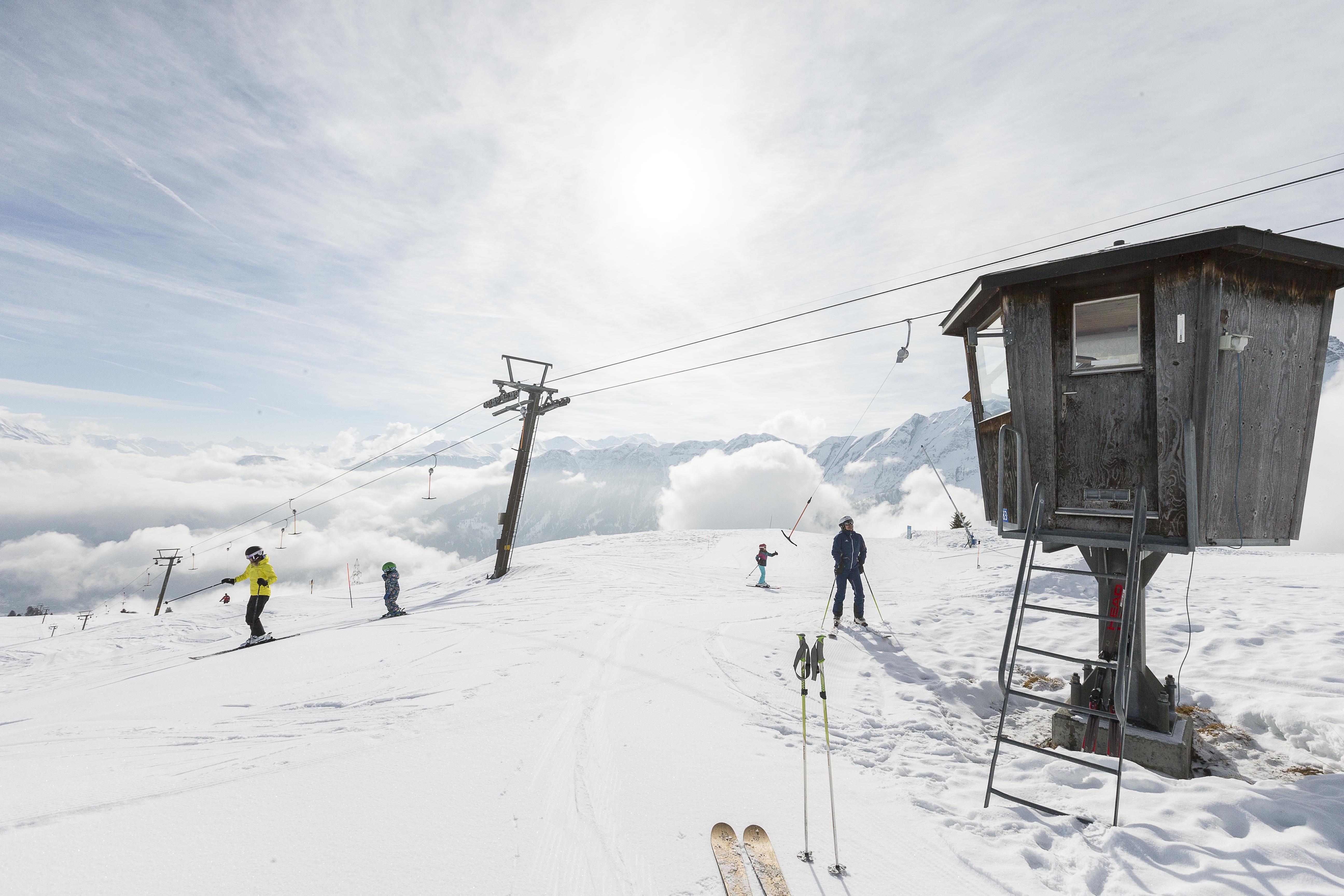 Tschappina, © Bergbahnen Graubünden, Thomas Hablützel